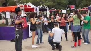 Open Up Your Heart Polka & Chicken Dance At The San Antonio College Oktoberfest