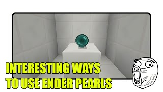 Interesting Ways to Use Ender Pearls in Minecraft