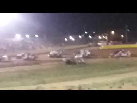 Late model Feature wreck - Nevada Speedway 8/25/18