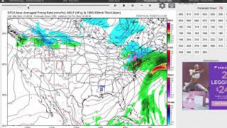 Complex Thursday Event; Looking Ahead To Thanksgiving Week...