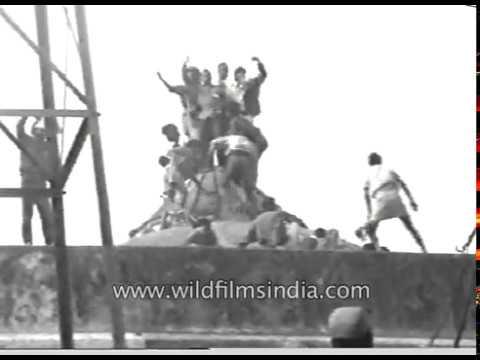 demolition-of-babri-masjid-in-ayodhya- -historic-archival-footage