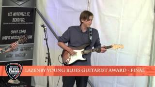 Lazenby Young Blues Guitarist Award Final 2015