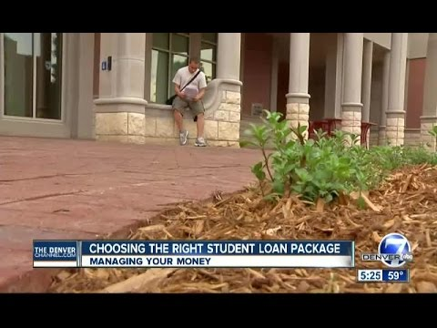 Choosing The Right Student Loan Package