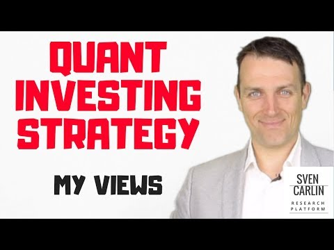 QUANT INVESTING STRATEGY - ALGO TRADING