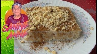 Aslan Sütü Tatlısı - Ramazan Tatlıları