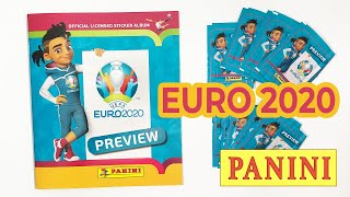 NEW PANINI EURO 2020 Чемпионат Европы по футболу ЕВРО 2020 Альбом наклеек Панини
