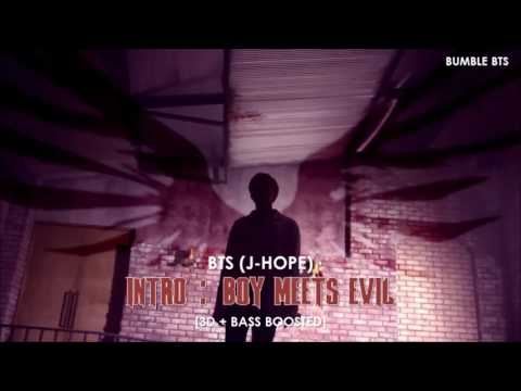 [3D+BASS BOOSTED] BTS (방탄소년단) J-HOPE - INTRO : BOY MEETS EVIL (TEASER VER.) | bumble.bts