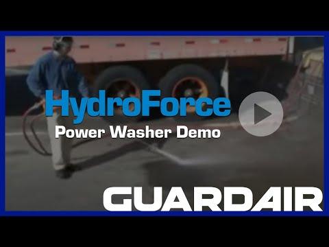Hydroforce Power Wash Gun Demonstration Youtube