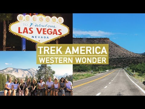 ROAD TRIP IN AMERICA | WESTERN WONDER | TREK AMERICA
