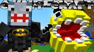 Minecraft CRAZY CRAFT -  BECOMING BATMAN!!