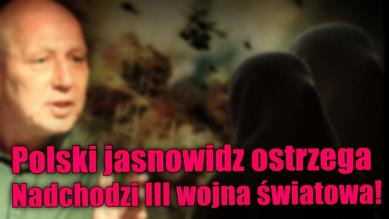 Krzysztof Jackowski ostrzega. III wojna światowa nastąpi w 2018 roku!
