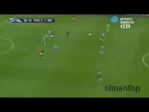 Porto Manchester United 0 1 Cristiano Ronaldo Goal HD New