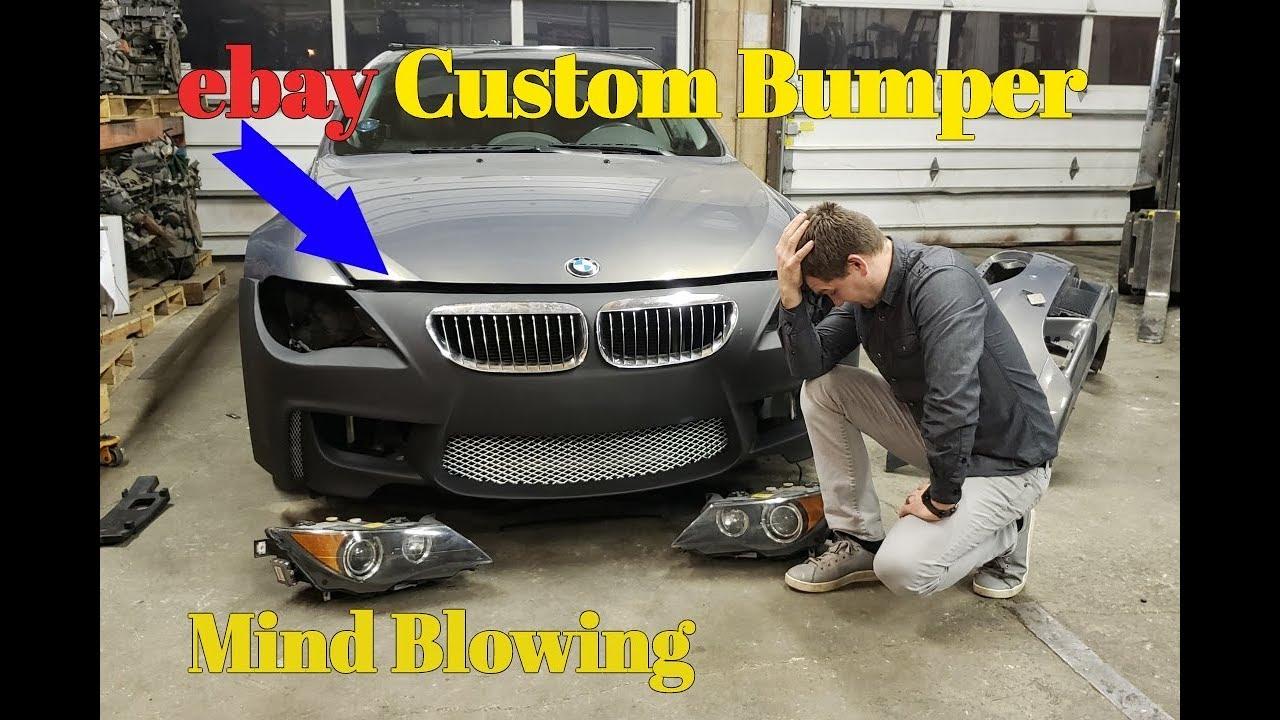 I Bought An EBay 1M Custom Bumper BMW 645Ci Bumper Cover