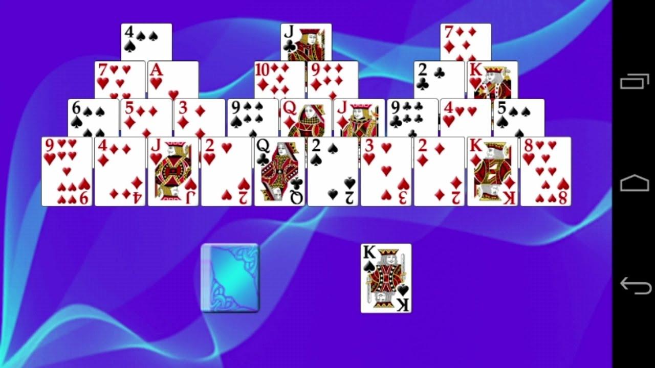 Original solitaire card game