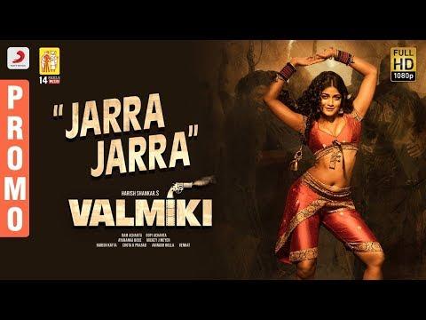 Valmiki | Jarra Jarra Song Promo |  Varun Tej, Atharvaa | Harish Shankar. S