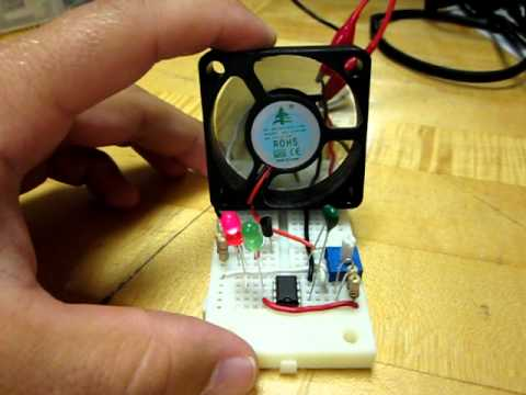 Control a 5V Motor with the Arduino Make