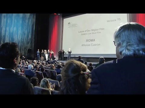 75. Mostra del Cinema - Awards Ceremony (full video)