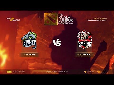 🤠 [RU] Team Spirit vs TPB и Team Empire   Bo3   The Kuala Lumpur Major СНГ OPEN QUALIFIER #1