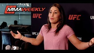 Jessica Eye on UFC Flyweight Division: 'This is my division... It's mine!'