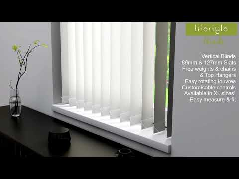 Lifestyle Blinds Made To Measure Vertical Blinds