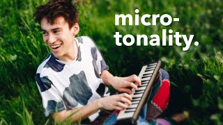 How Jacob Collier Uses Microtonality, Pitch and Temperament