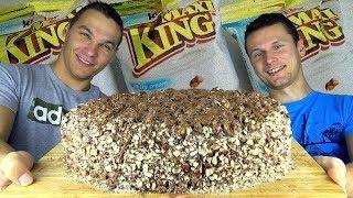 [XXL] OBŘÍ 5 KILOVÝ KINDER MAXI KING!!! (20,000 kalorií)