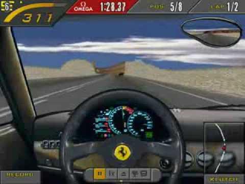 NFS2SE: Ferrari F50 vs McLaren F1