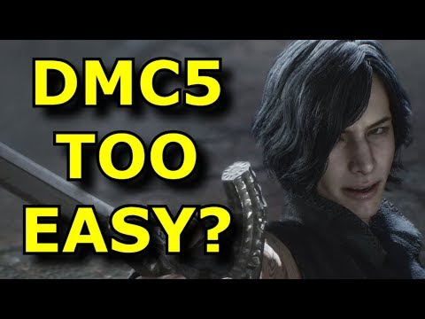 "Is Devil May Cry 5 ""TOO EASY""? - Rant Video thumbnail"