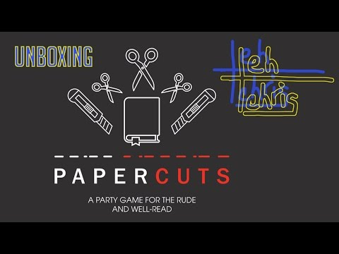 Unboxing: Papercuts + Literary Aces