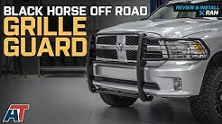 2009-2018 RAM 1500 Black Horse Off Road Grille Guard - Black Review & Install