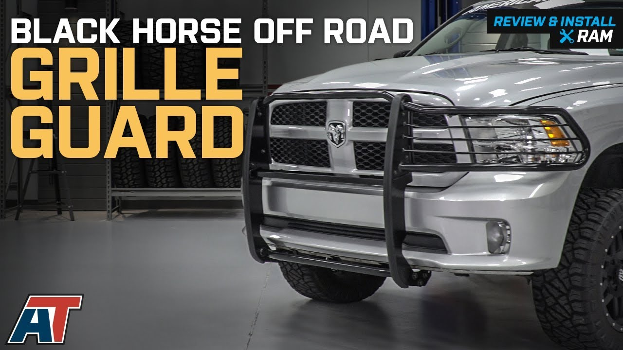 2009 2018 Ram 1500 Black Horse Off Road Grille Guard Review Install