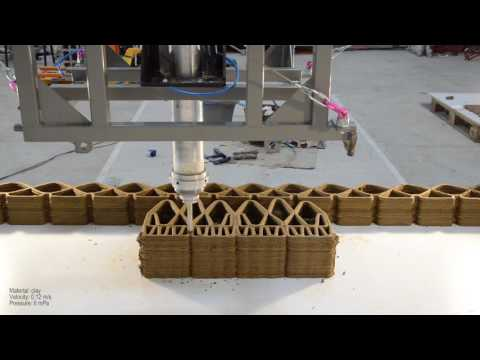 <p>On-site 3D printing using cable-driven robots</p>