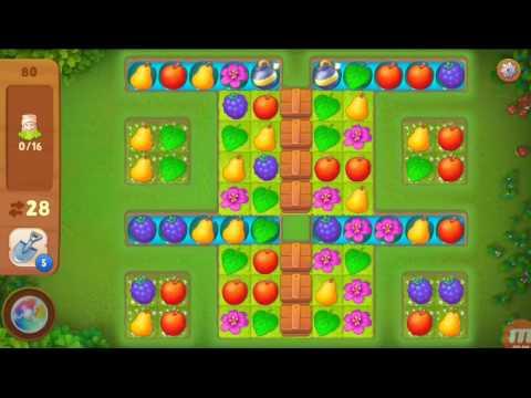 Как пройти 80 уровень в игре gardenscapes