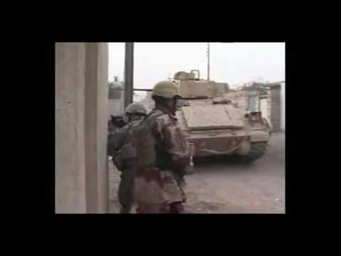 Insane Firefight In Baghdad (INTENSE RAW FOOTAGE!)