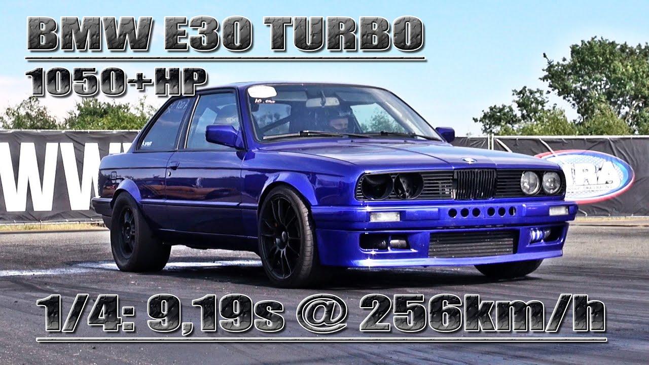 Fastest BMW in germany BMW E30 36L Turbo 1050HP  YouTube
