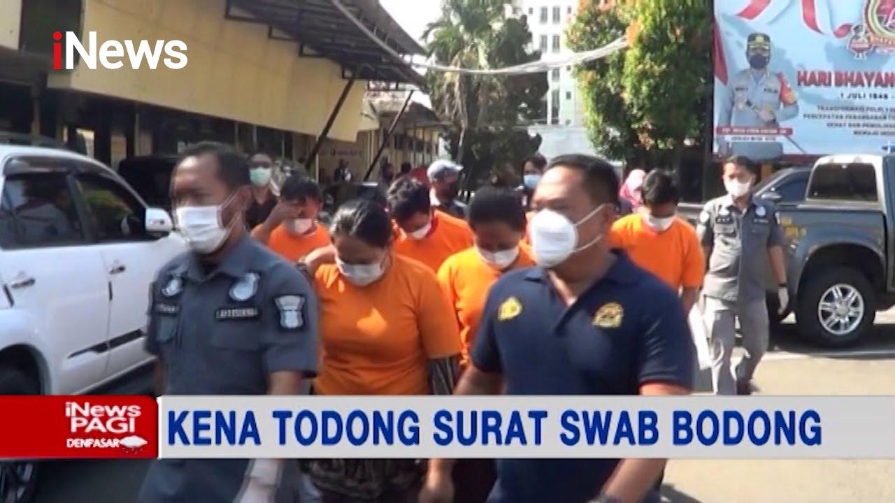 Download Kepolisian Depok Tangkap Komplotan Penjual Surat Swab Palsu #iNewsPagi 28/07