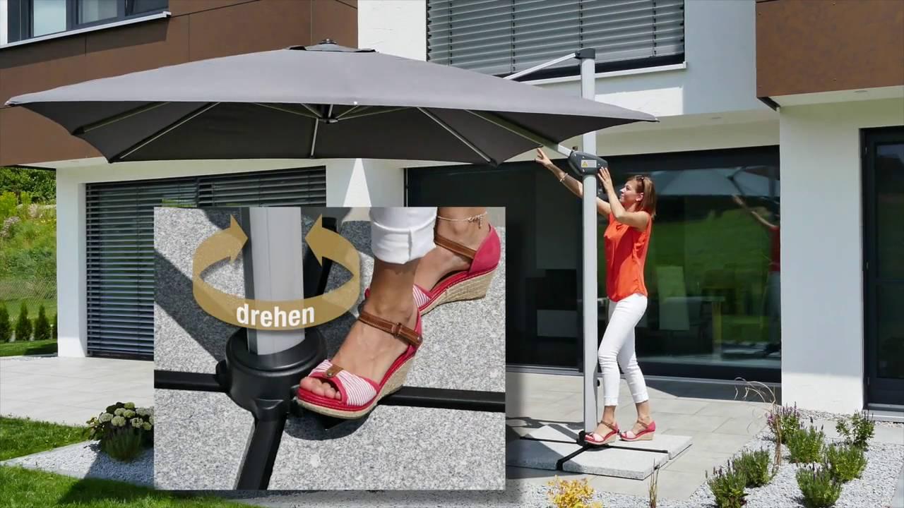 Anwendungsvideo Schneider Schirme Monaco