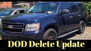 Chevy Tahoe Collapsed Lifter DOD Delete Kit, Cam, Headers, Exhaust UPDATE