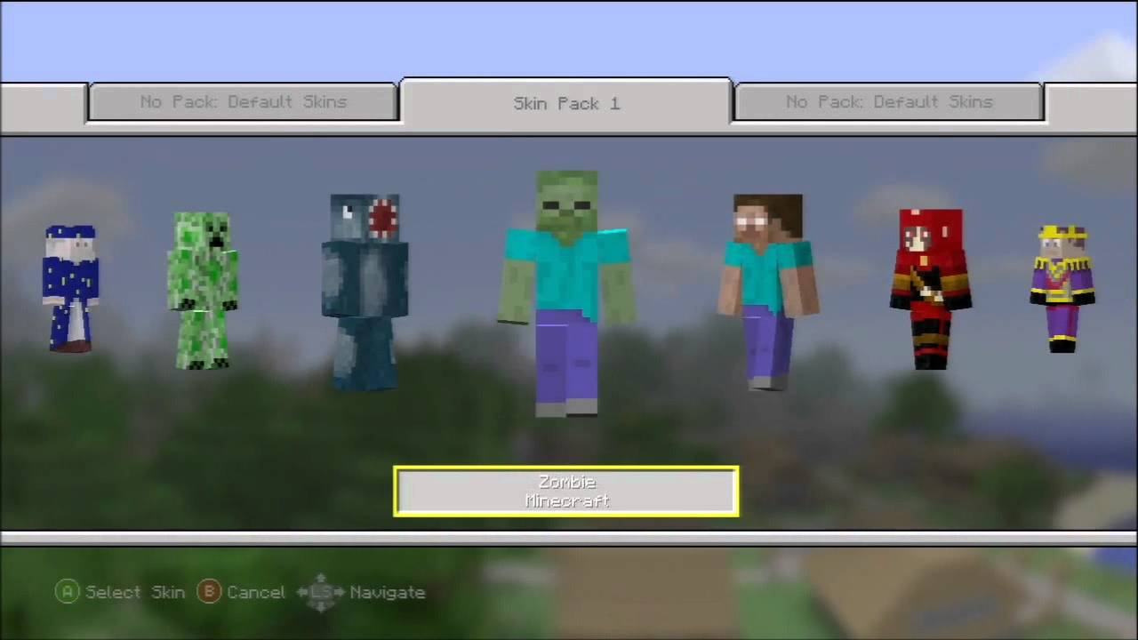 Minecraft Skin Pack 10 - All skins preview (NEW DLC)