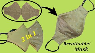 All sizes Very Easy Breathable Face Mask Face Mask Sewing Tutorial How to Make Mask At Home