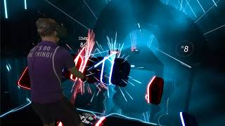 $100 Bills BEAT SABER Playthrough!