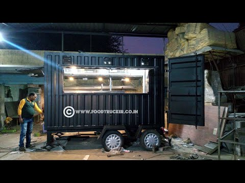 Food truck trends India; food  Trailer  and trolley manufacturer Pune