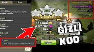 Ganimet Oranini Artiran Gizli Kod! Clash Of Clans