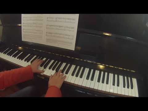 Theme by Thomas Attwood  |  ABRSM grade 1 piano list A 2019-2020