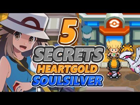 5 SECRETS & ASTUCES INCROYABLES SUR POKEMON HEARTGOLD & SOULSILVER !