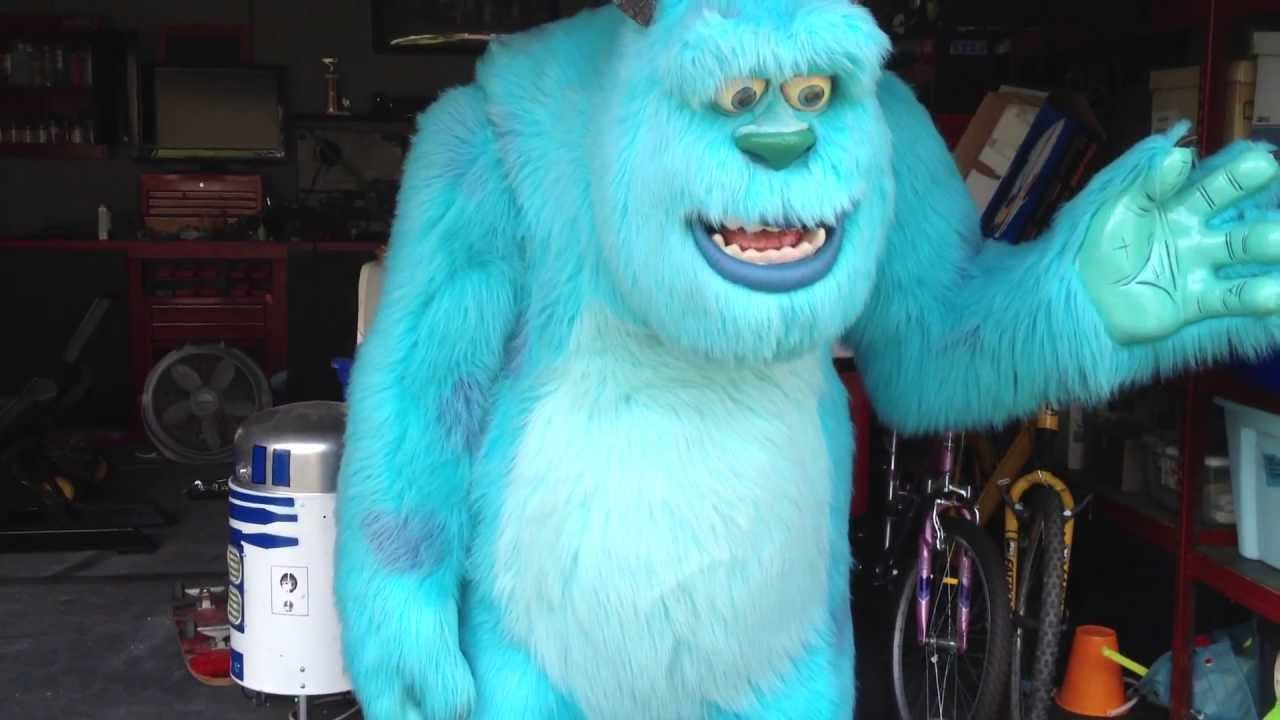 monsters inc lifesize sully mike monsters university youtube