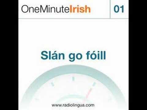 One Minute Irish - Sample Video