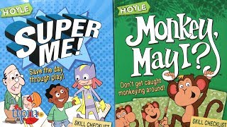 Super Me! and Monkey May I? Card Games from Hoyle