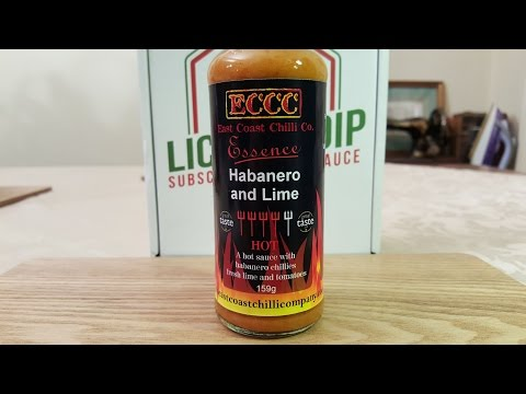 Habanero & Lime Chilli sauce by East Coast Chilli Co.  Review thumbnail