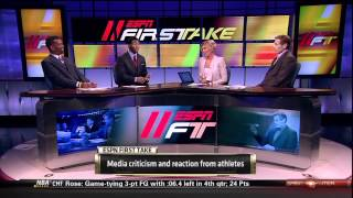 Skip Bayless, Ryan Clark,and Rob Parker talk Media criticism